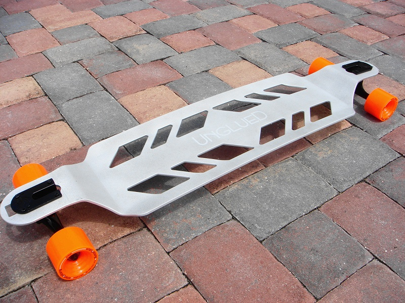 sweet metal longboard